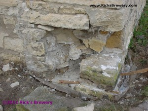 Using spacer sticks in masonry repair