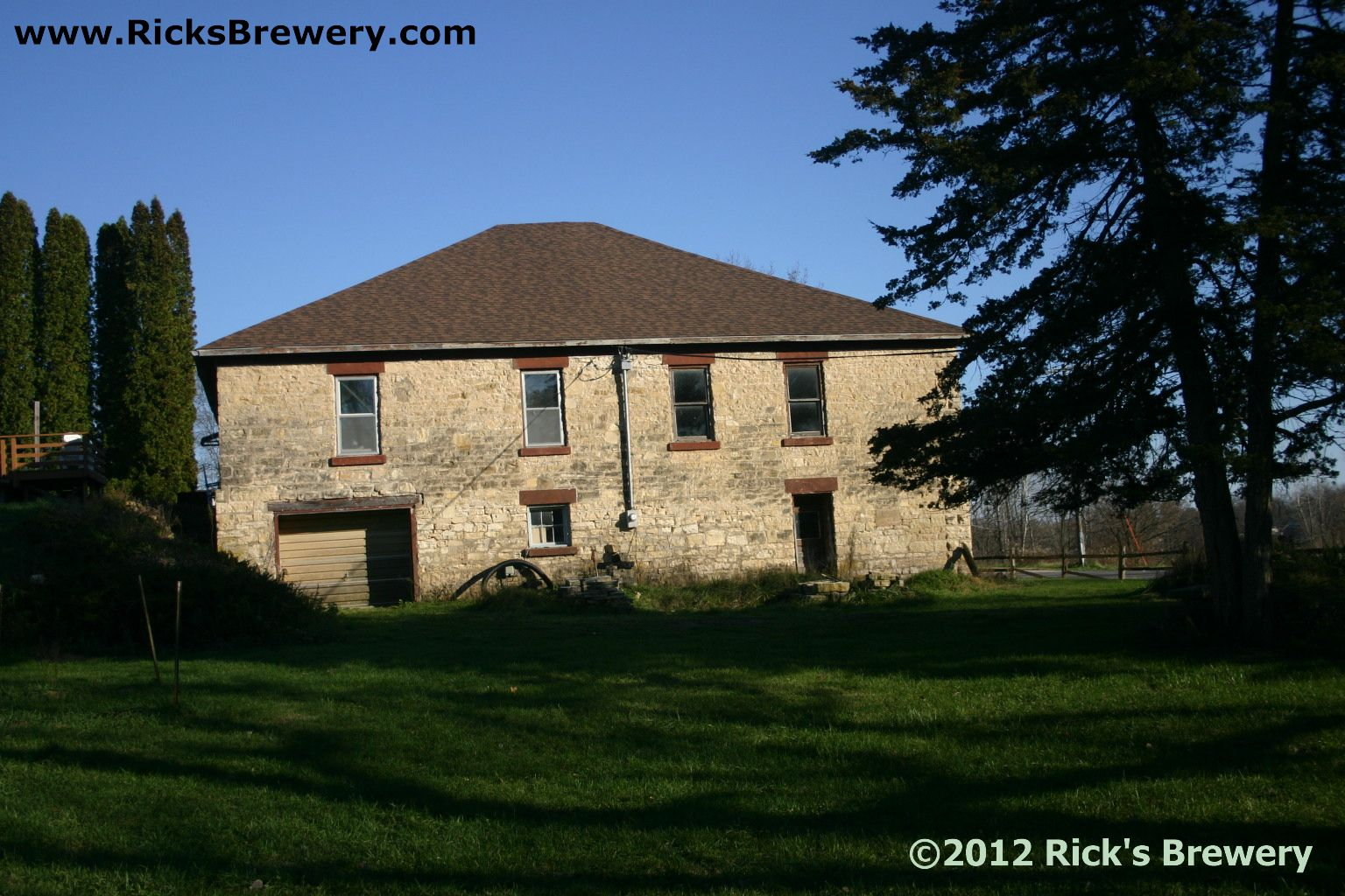 Brewery West view from creek